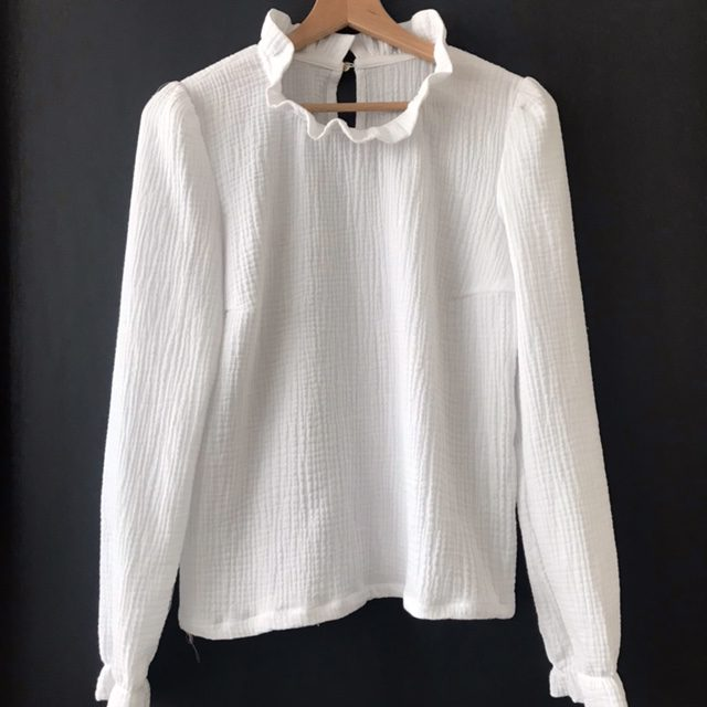 Blouse Jeanne eco responsable